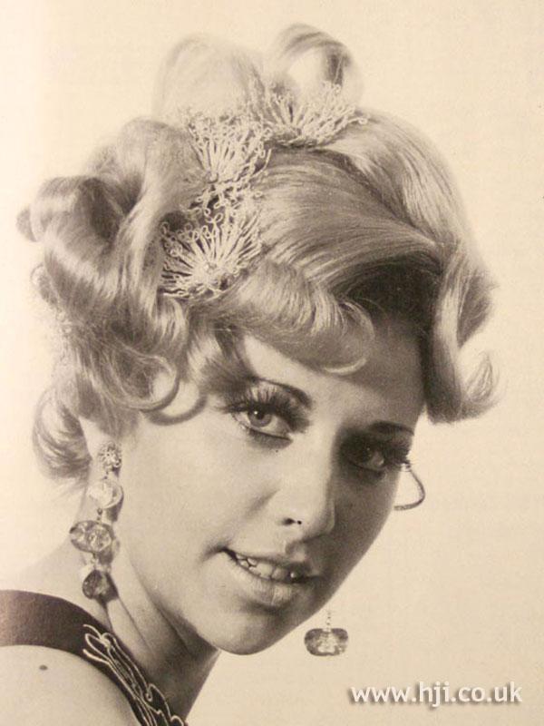1969 elaborate curls