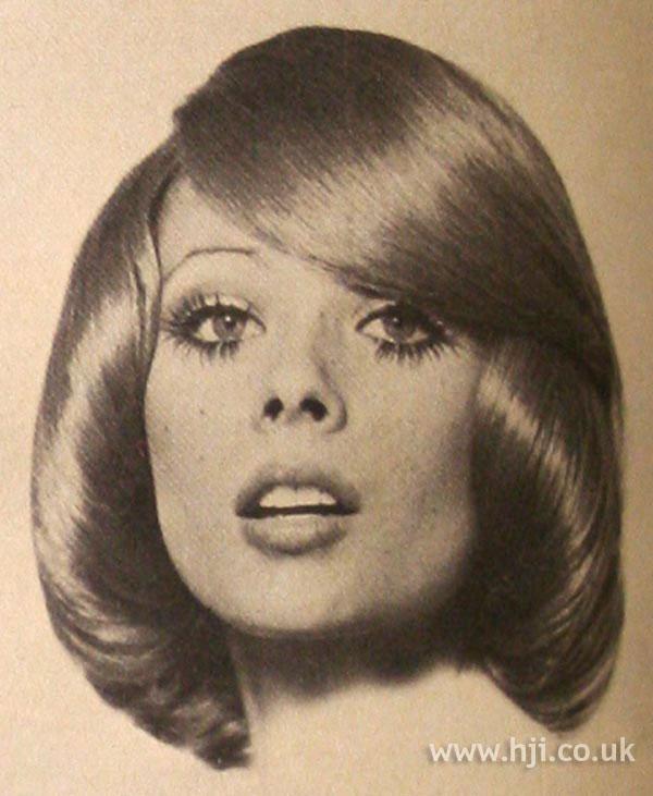 1969 glossy redhead