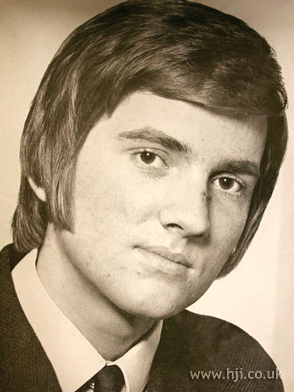 1969 men mid length hairstyle