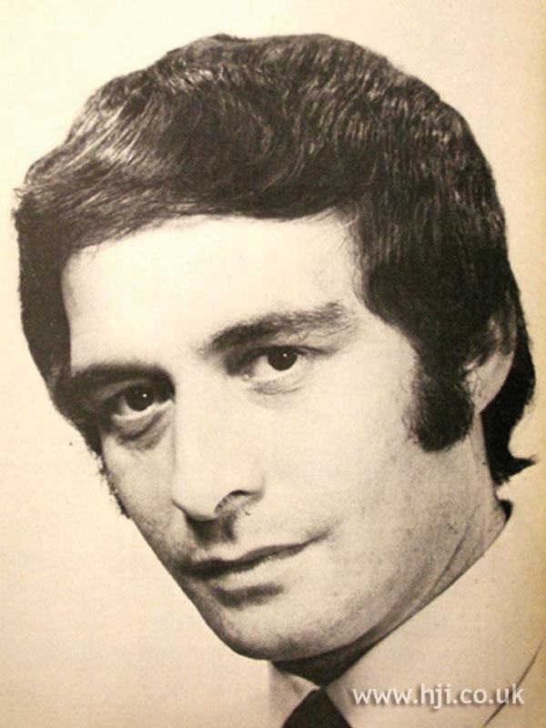 1969 men sideburns hairstyle