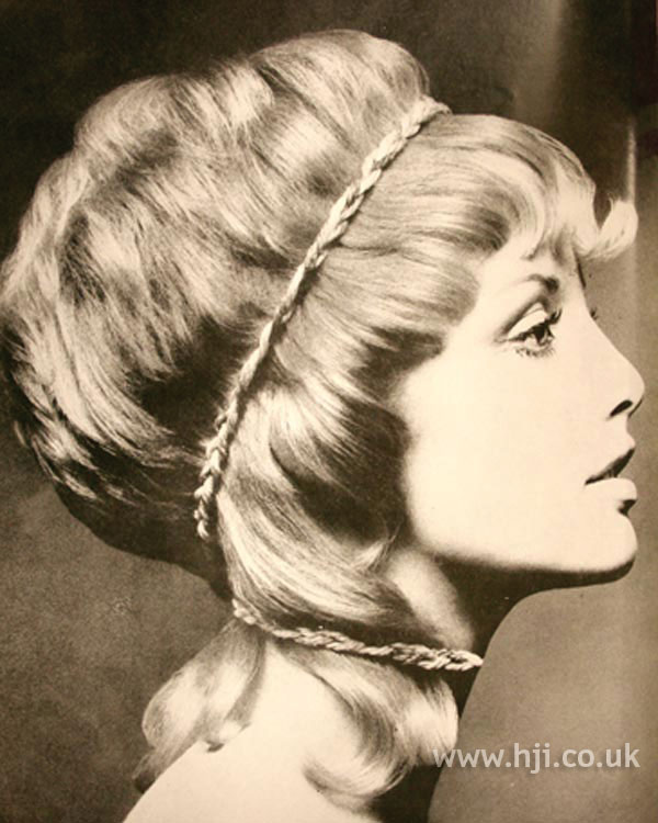 1969 mid length accessories hairstyle