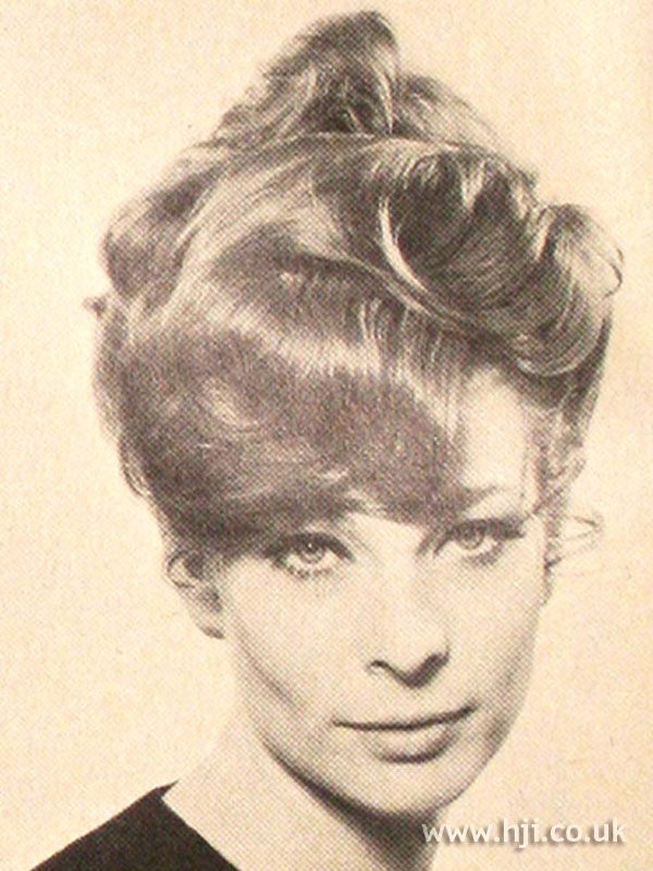 1969 waves updo