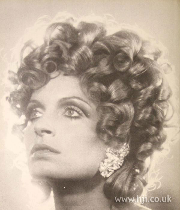 Full-bodied 1970s curls