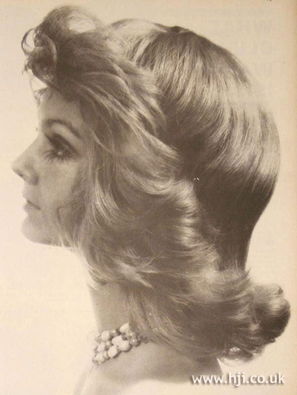 1970 flicked-out pageboy