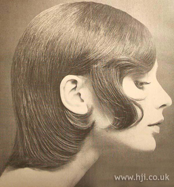1970s bob with sideburns