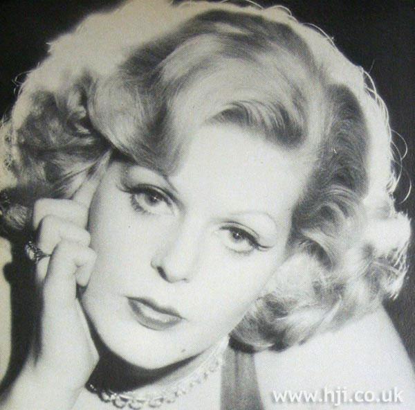 1979 blonde quiff
