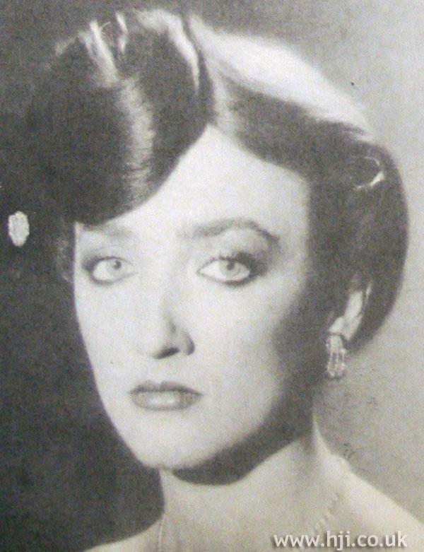 1979 elegant chignon hairstyle