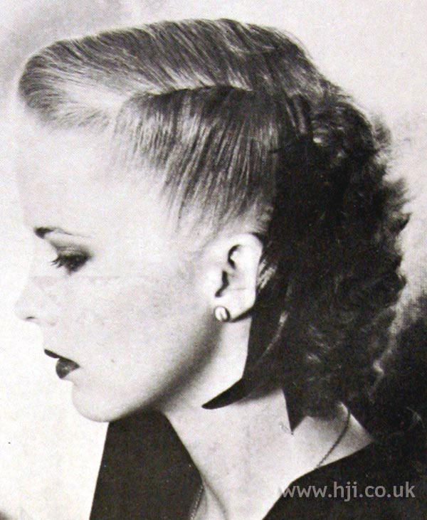 1979 feather updo