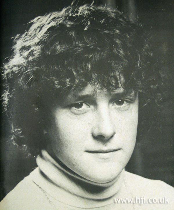 1970s men's perm