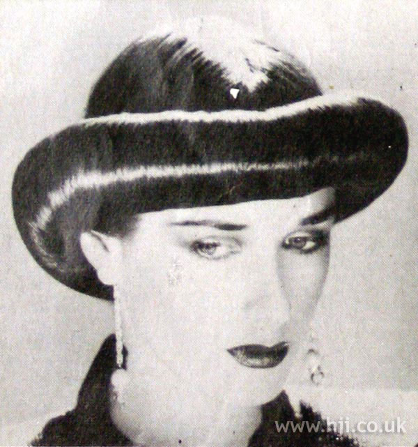 1979 rolled hat hairstyle
