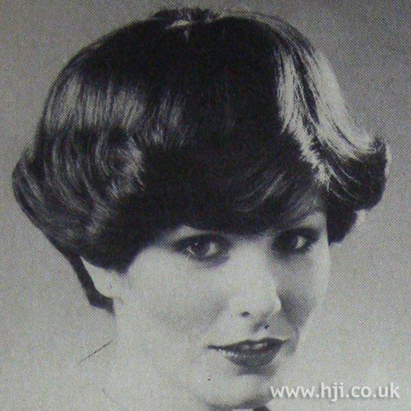 1970s bob with heavy full fringe