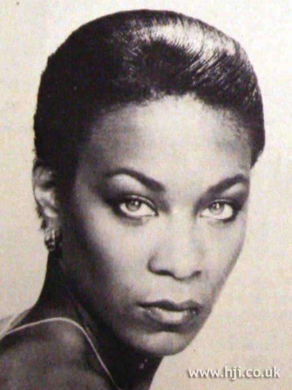 1979 sleek afro hairstyle