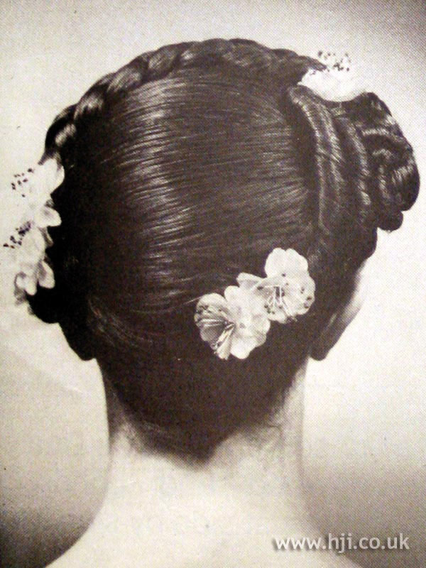 1979 summer updo hairstyle