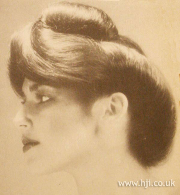 1979 sweep updo hairstyle