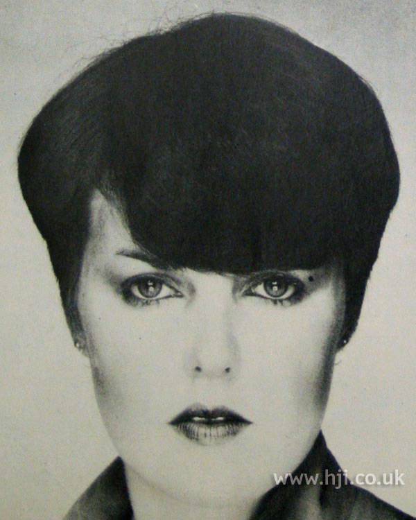 1970s crop with full fringe