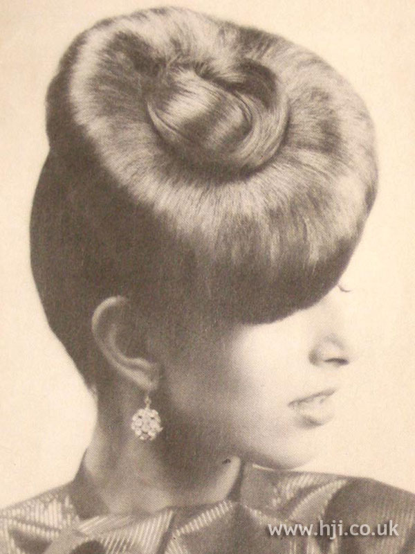 1979 oversized top knot