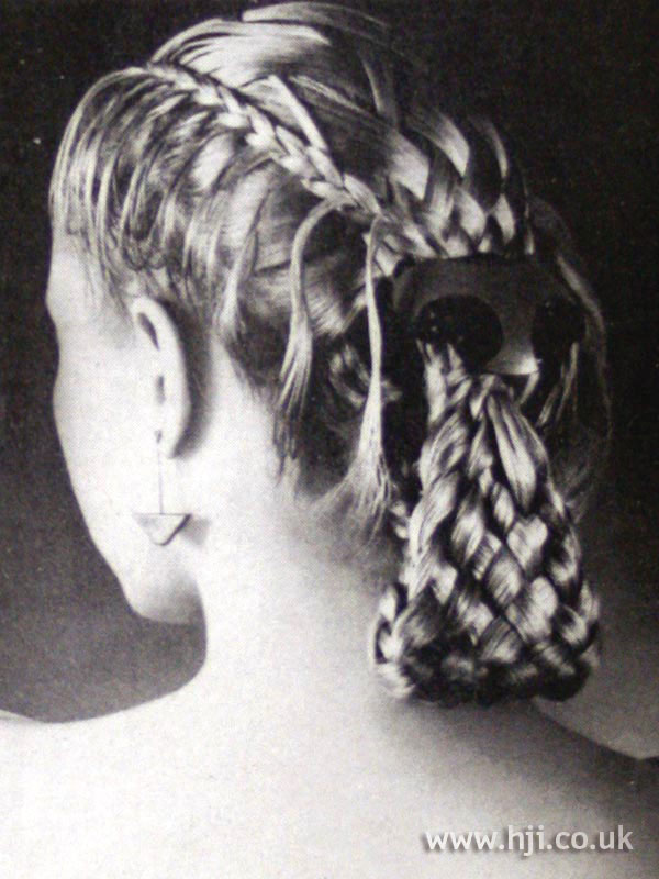 1979 woven ponytail
