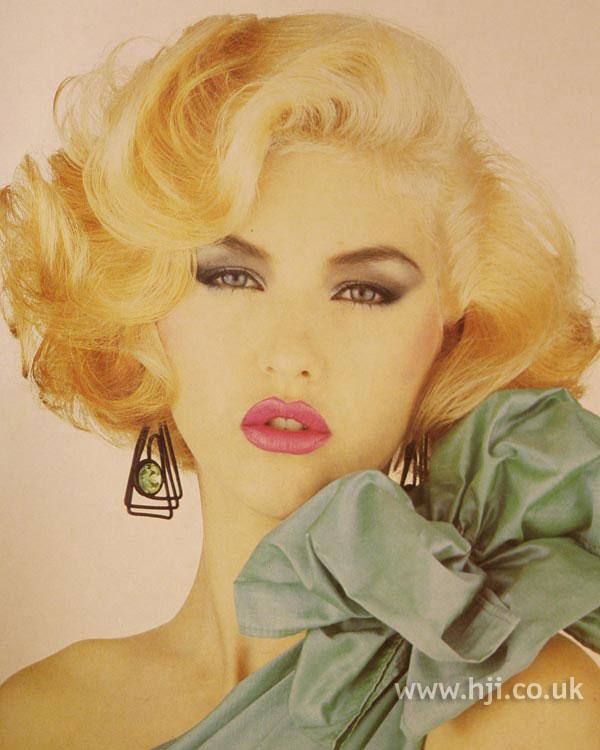 1984 blonde glamour