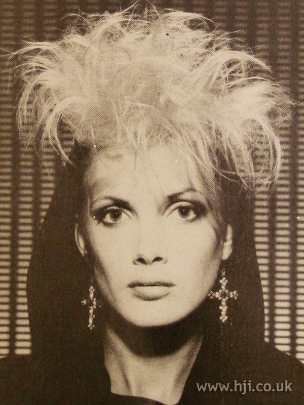 1984 blonde messy