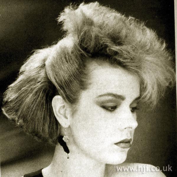 1984 blonde volume hairstyle