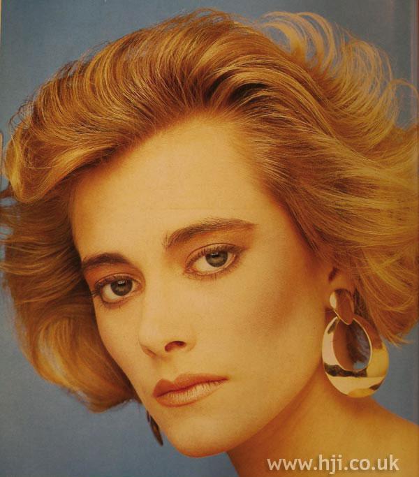 1984 blonde wavy