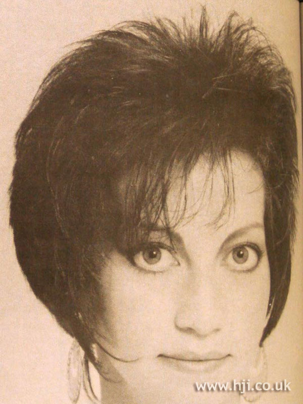 1984 brunette bob