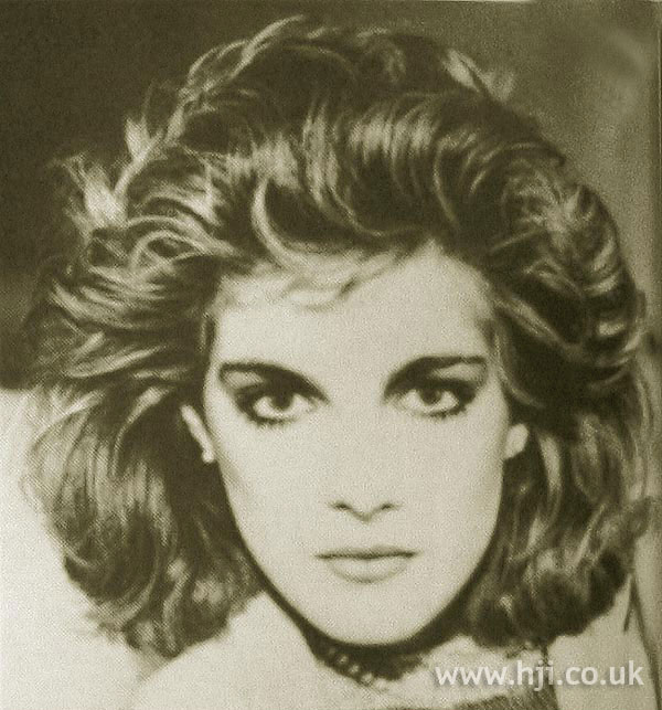 1984 brunette volume