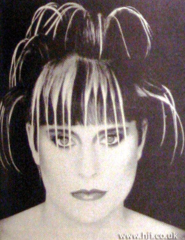 1984 creative avant-garde hairstyle