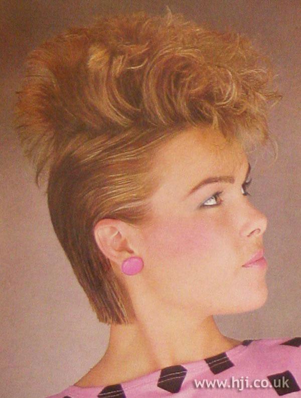 1984 curl quiff