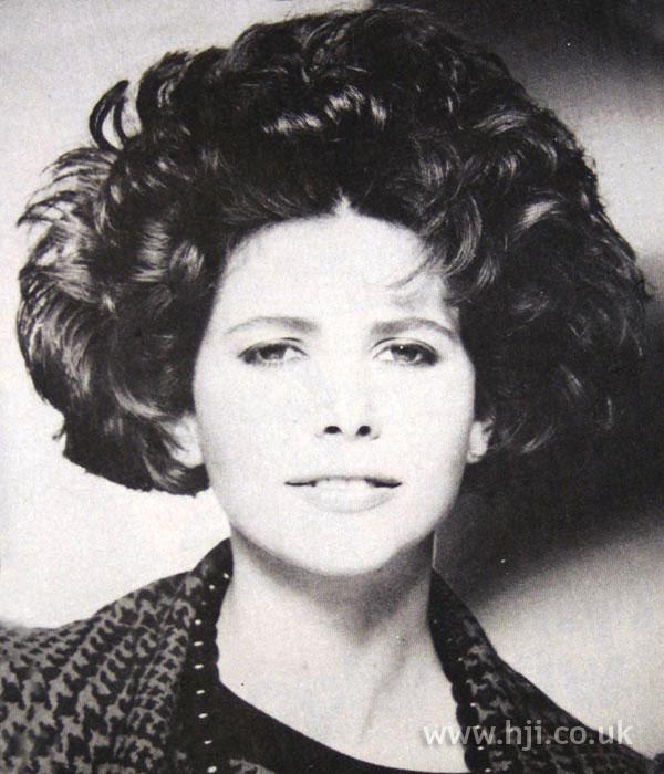 1984 curls brunette