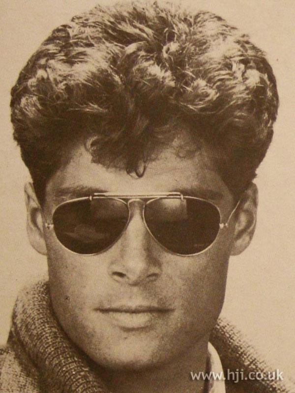 Фото мужских причесок 1980 годов