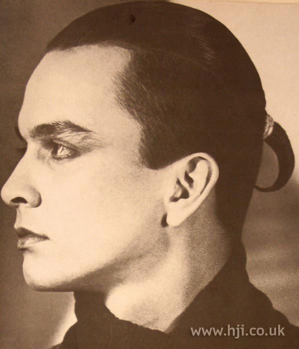 1984 men ponytail