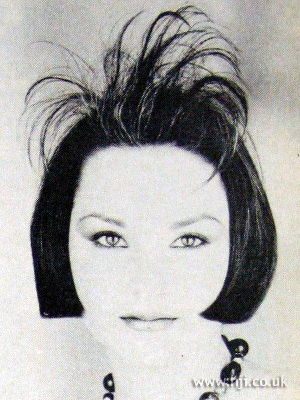 1984 bob with spiky detail fringe