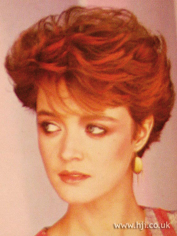 1984 short cropped hairstyle