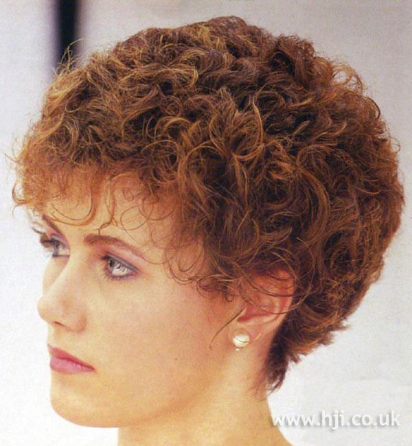 1984 short curl