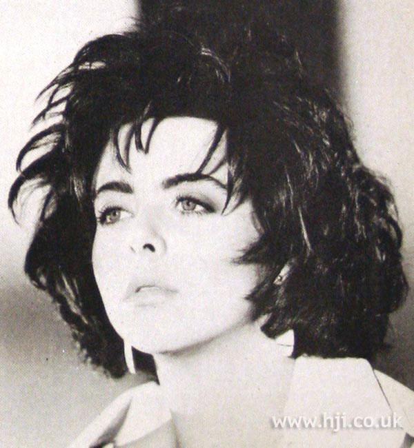 1984 texture brunette