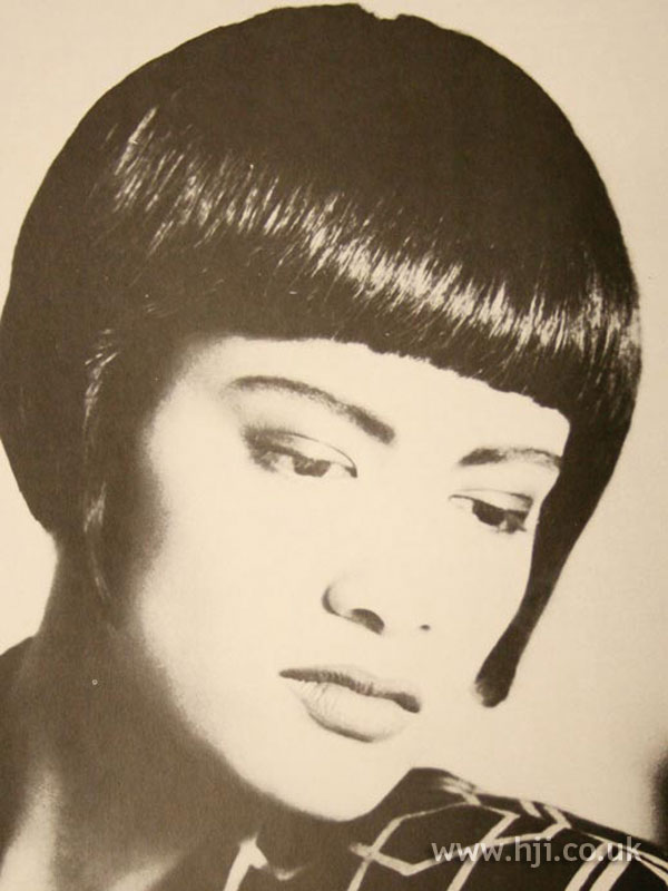 1986 asymmetric bob hairstyle
