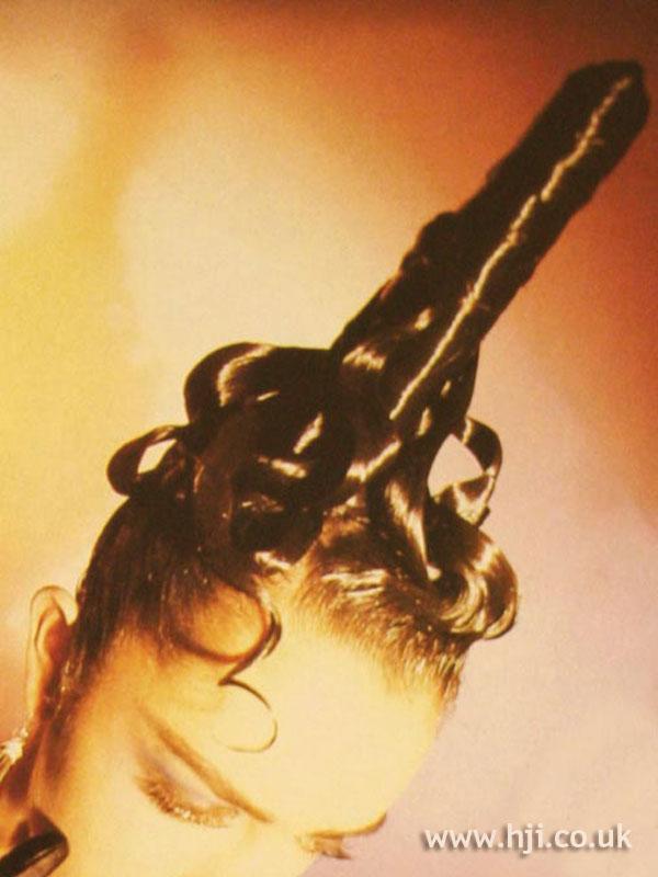 1986 avant garde hairstyle