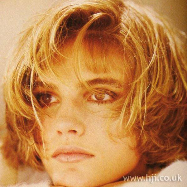 1986 blonde bob