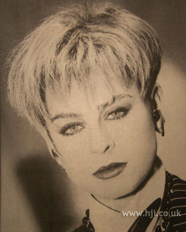 1986 blonde short