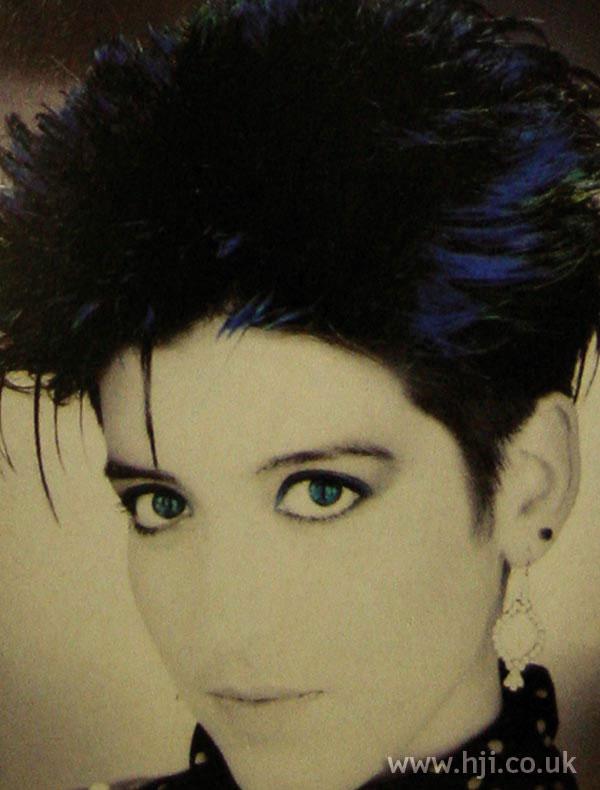 1986 crop blue