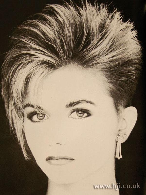 1986 cropped quiff
