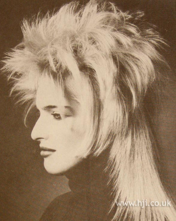 1986 layered mullet hairstyle
