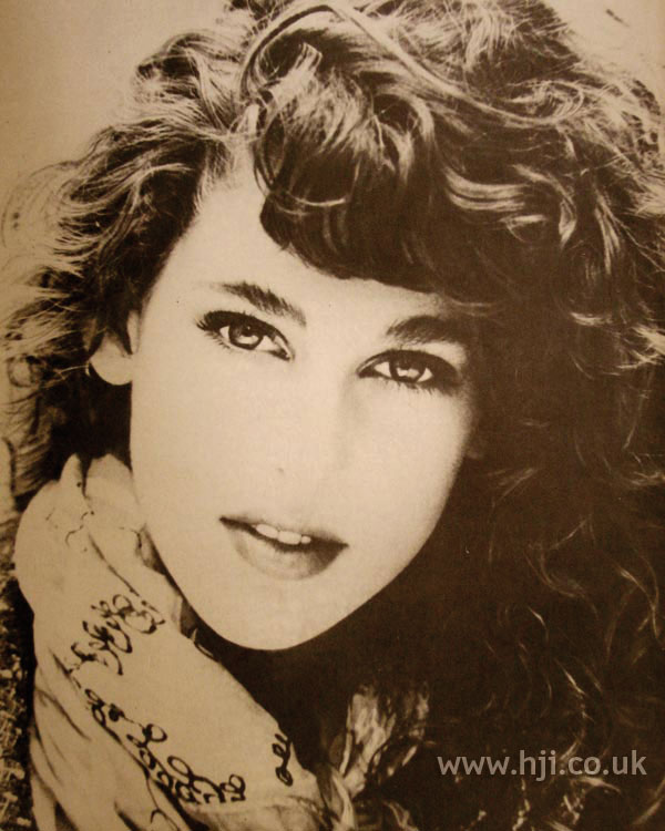 1986 long curly hairstyle