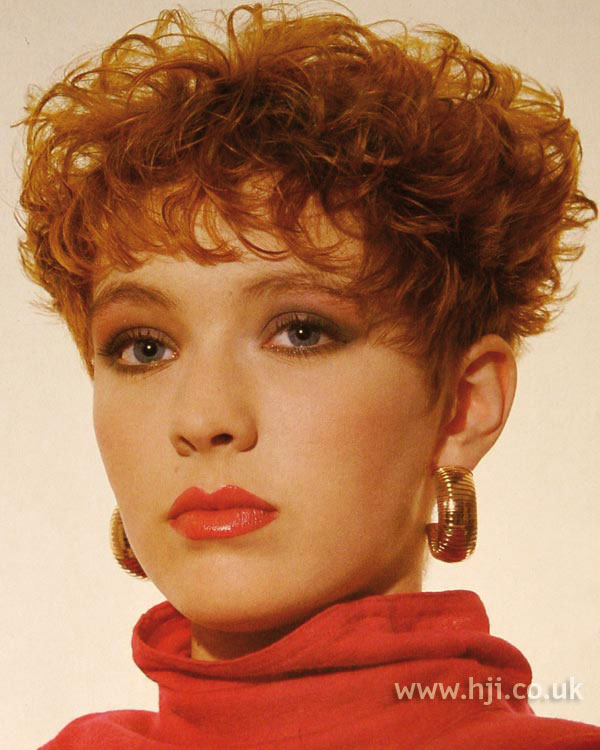 1986 short perm hairstyle
