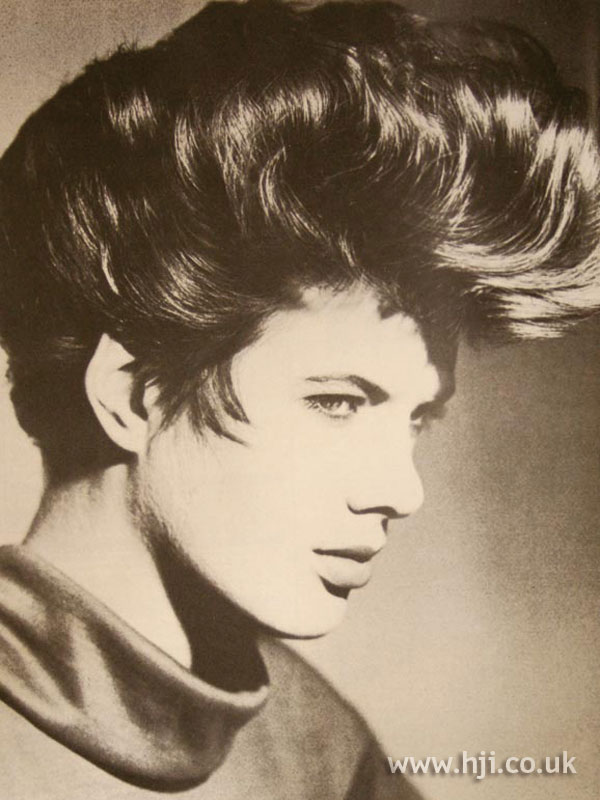 1986 tall quiff hairstyle