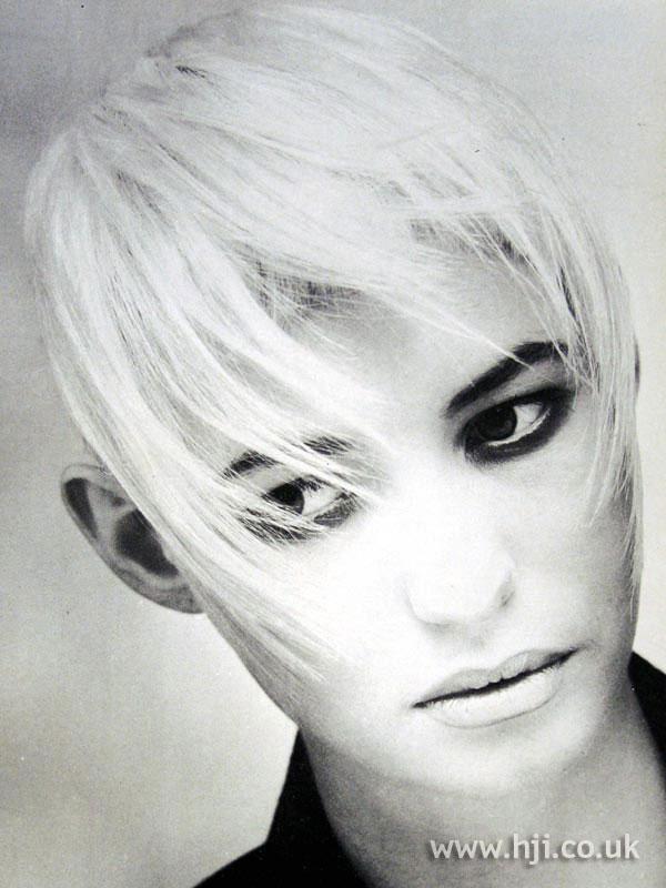 1987 blonde fringe