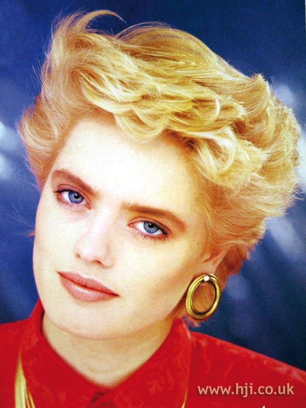 1987 soft blonde waves