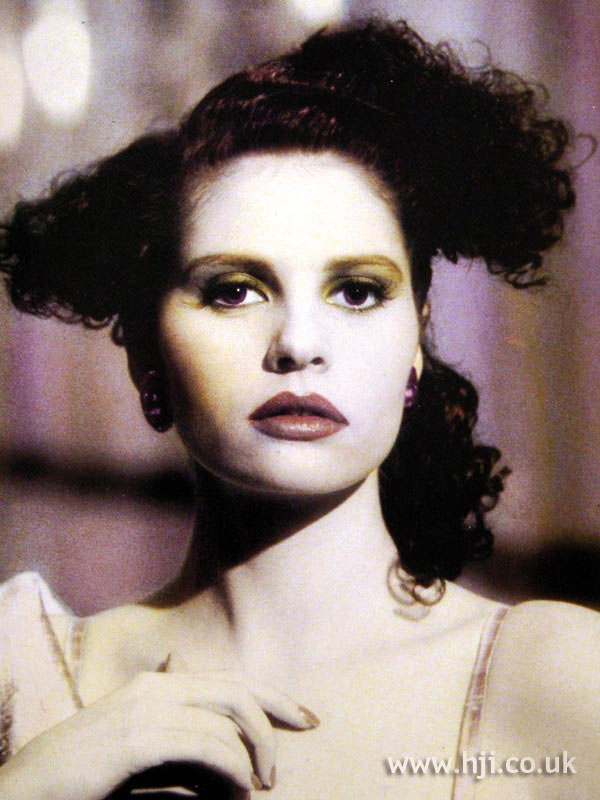 1987 creative perm hairstyle