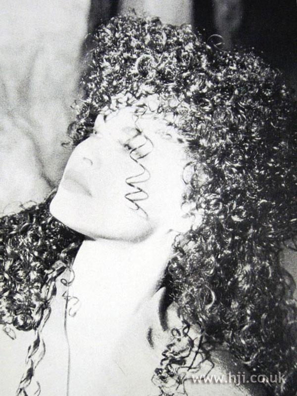 1987 long ringlets